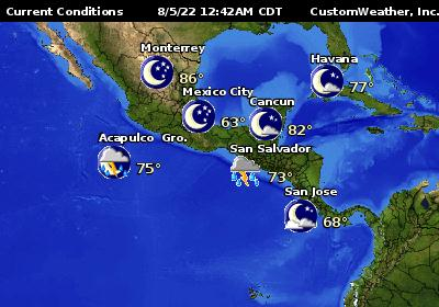 Puerto Vallarta World Map.Puerto Vallarta Jalisco Mexico Conditions