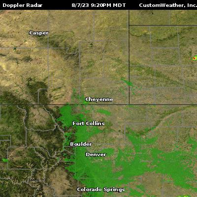 Cheyenne, WY Radar Maps