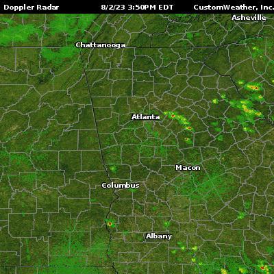 atlanta ga radar maps