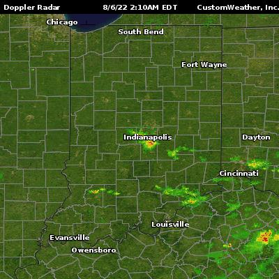Indianapolis, IN Radar Maps on
