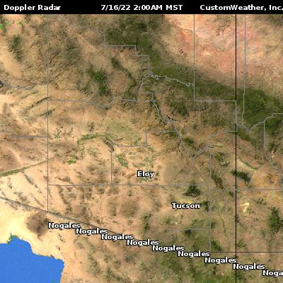Doppler Weather Radar Map Arizona - Weather doppler az