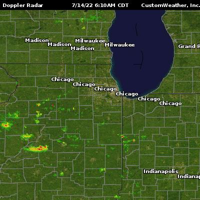 Chicago, IL Radar Maps
